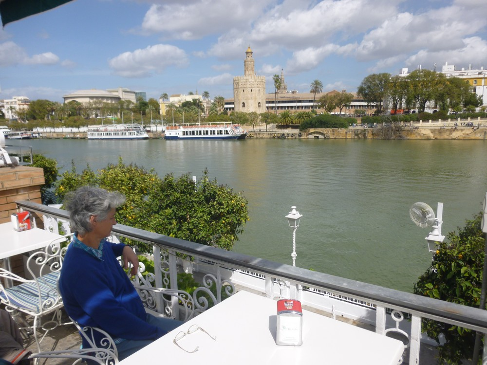Une petite pause sur le Guadalquivir