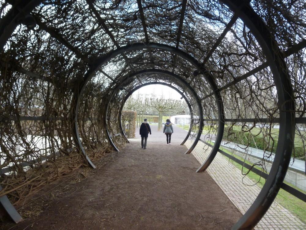 Dans les jardins du musée juif (superbe)