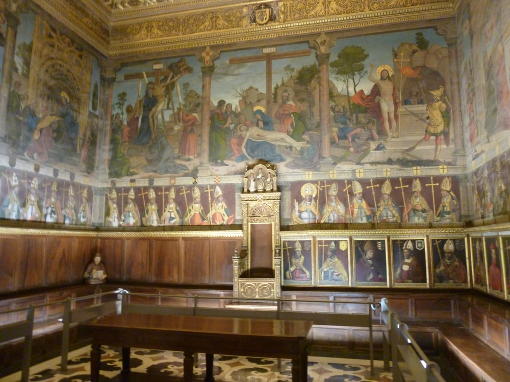 La salle capitulaire de la cathédrale de Tolède