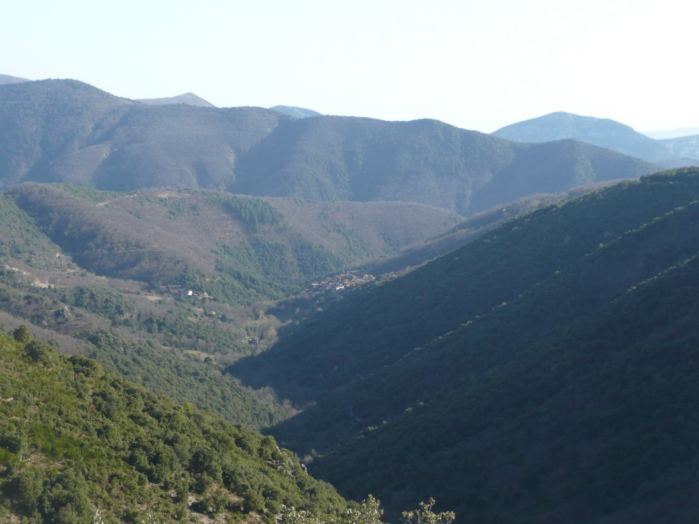 Une vallée cévenole (au détour d'une rando)
