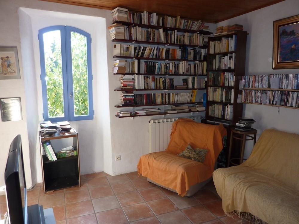 Une partie de la bibliothèque