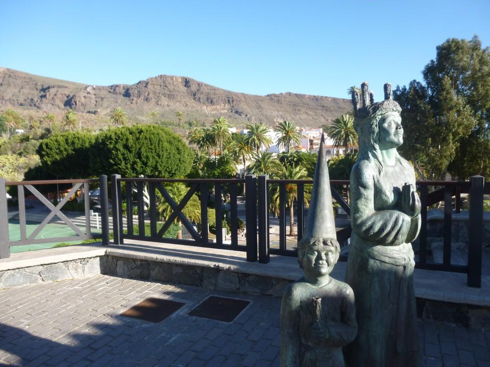 Statues à santa lucia
