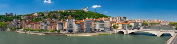 Lyon Panorama Studienreise Franche Comté