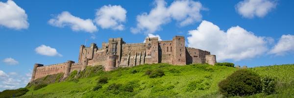 Bamburgh Castle Studienreise Nordengland und Südschottland