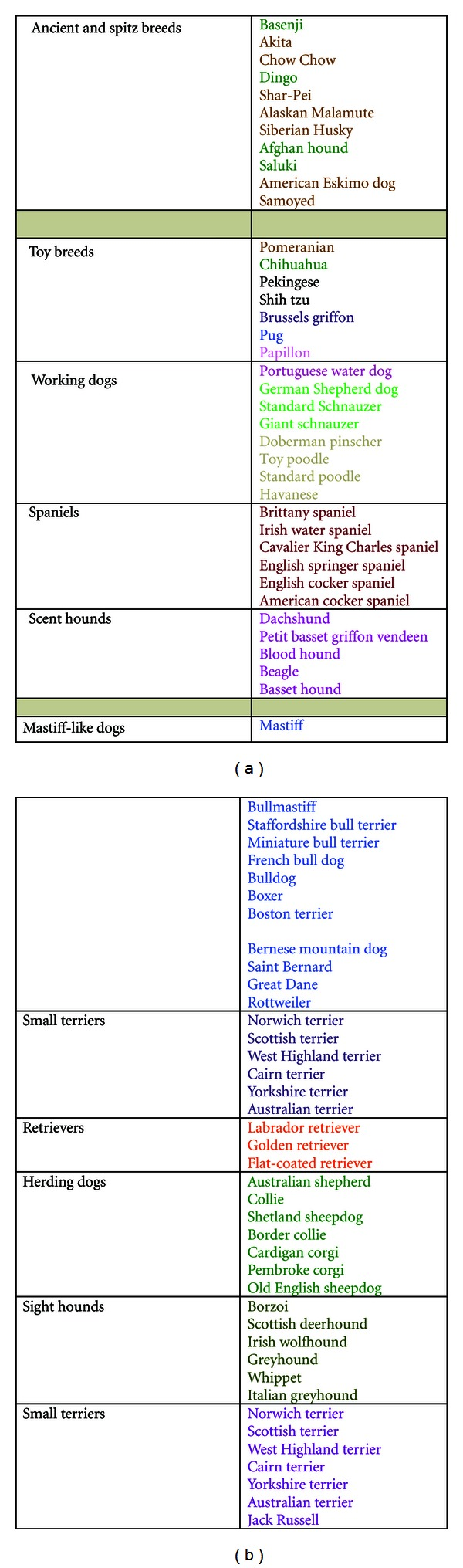 Breed-Predispositions to Cancer in Pedigree Dogs - Osteosarkom Hund ...