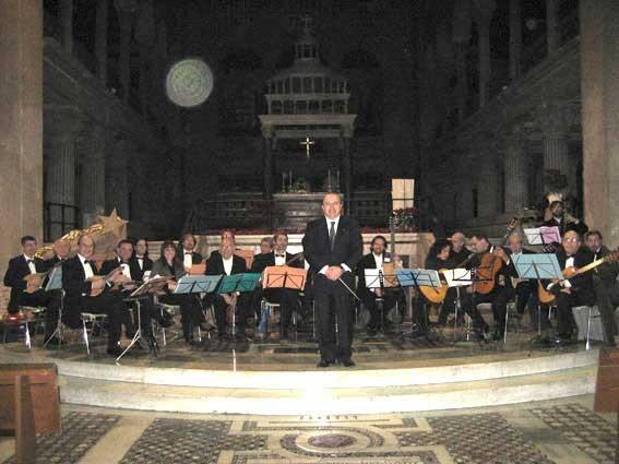 3/1/2007 - Roma - Grande Musica in Chiesa  (Chiesa di San Lorenzo Fuori le Mura) - (direttore Franco Turchi)