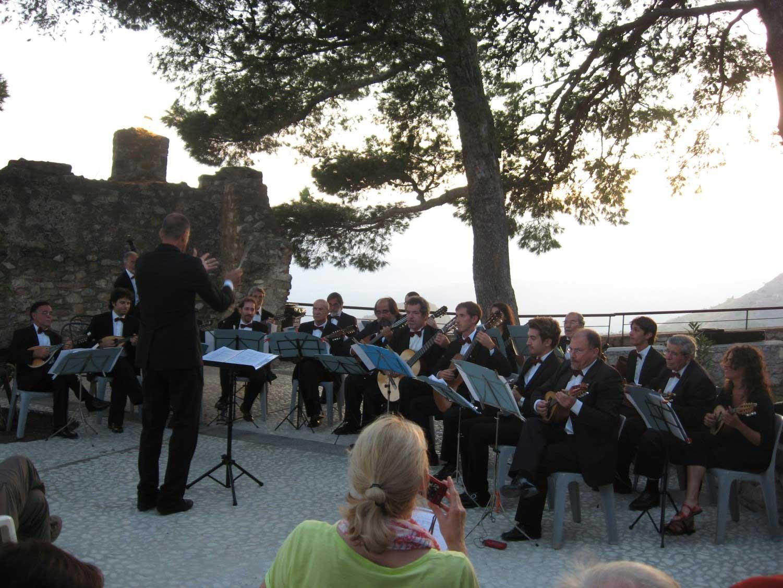 Taormina (CastelMola ) 16/9/2014 - 3° Festival Internazionale Orchestre a plettro - (direttore Giorgio Matteoli)