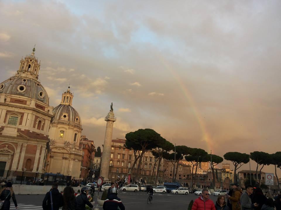 Roma  - Chiesa Madonna di Loreto, Piazza della Madonna di Loreto, 26