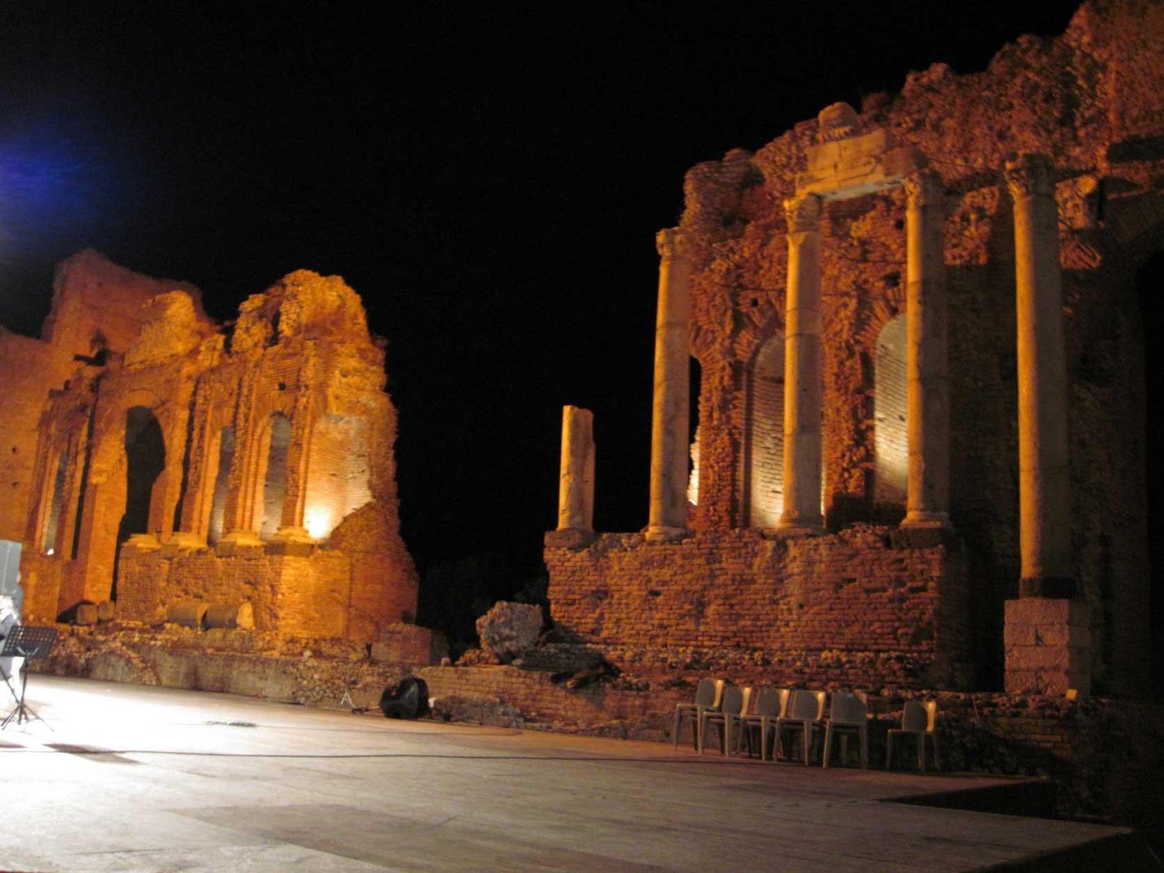 Taormina, Teatro Greco - 15/9/2014 - 3° Festival Internazionale Orchestre a plettro - (direttore Giorgio Matteoli)
