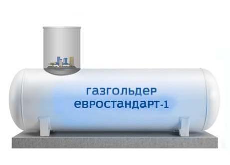 Подземный резервуар для СУГ 2200л.