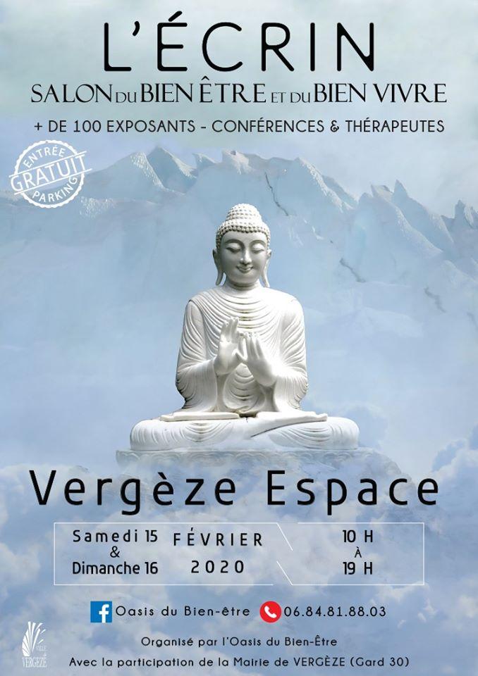 Salon du bien-être de Vergèze, 15-16 février 2020