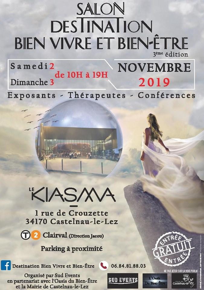 Salon du bien-être de Castelnau-Le-Lez, 2 et 3 novembre 2019