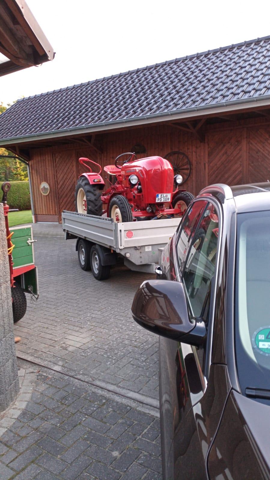 Abfahrt zur Ausfahrt nach Jübberde
