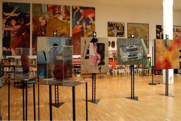 """""""Studi"""", olio su tela, cm 90x110, 1998"""