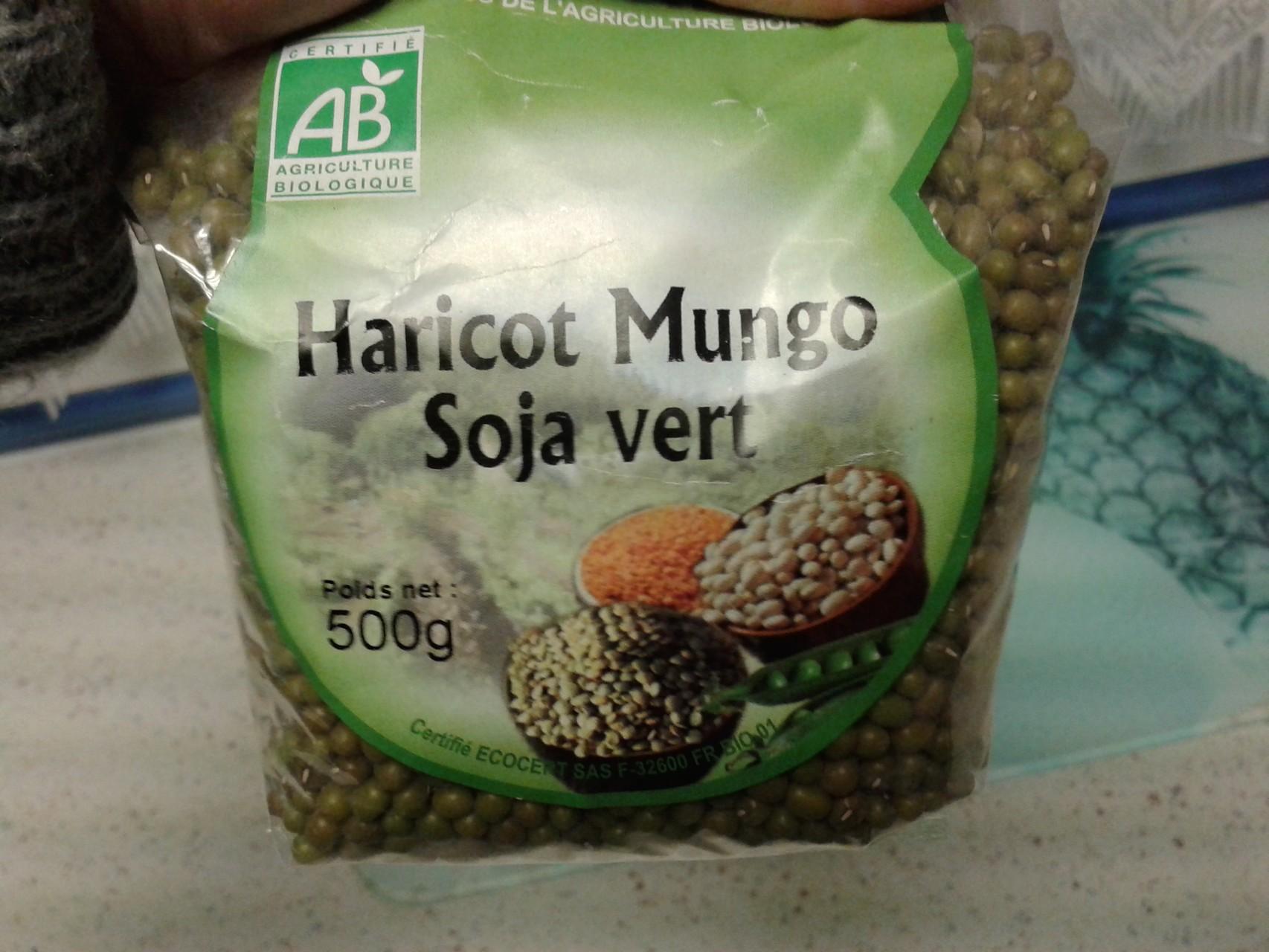 haricots mungo = germes de soja