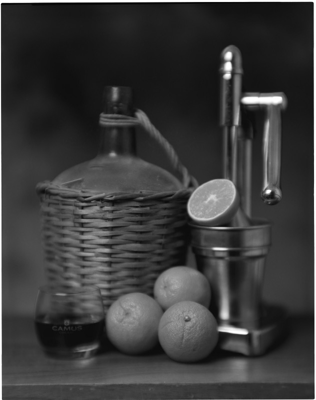 Orangen (Darlot Petzval 3.7/210mm)