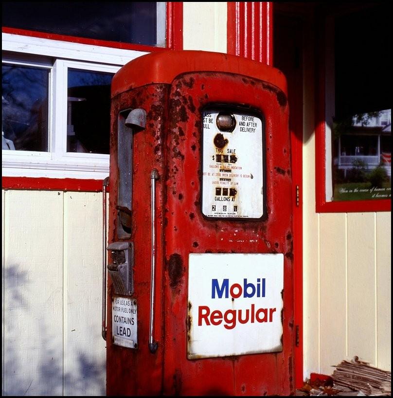 Alte Tankstelle, New England