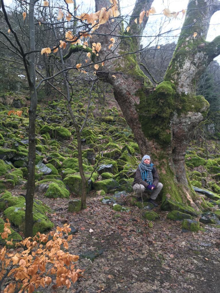 Wandern und Shiatsu - Teilnehmerin ist begeistert