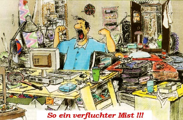 Bei der Arbeit am Computer - Seit über dreißig Jahren