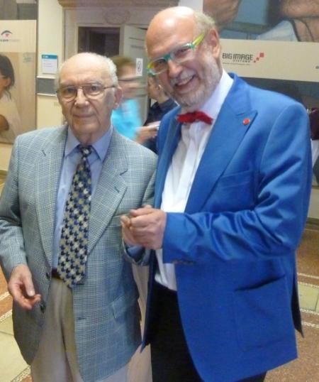 Mit Prof. Dr. Peter Moest bei seiner Verabschiedung aus der Beuth Hochschule – Berlin 2016
