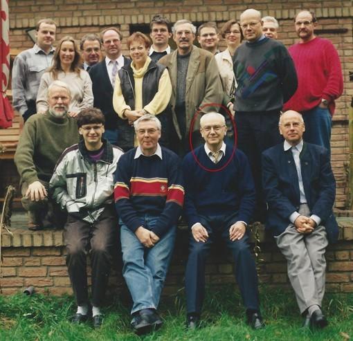 Inmitten der Seminar-Teilnehmer im Hause Augustynowicz – Karthan 1997