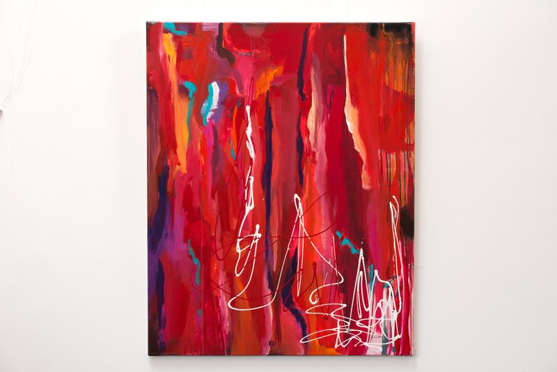 Leibhaft in Rottönen, Künstlerin Uschi Heubeck, Exponat auf Foto 100x80 cm, 560€