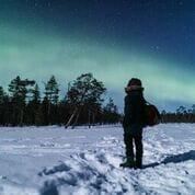 Vic Ja4 - Aurora Boreal (album). Photo by All About Lapland (Rovaniemi, Finland)