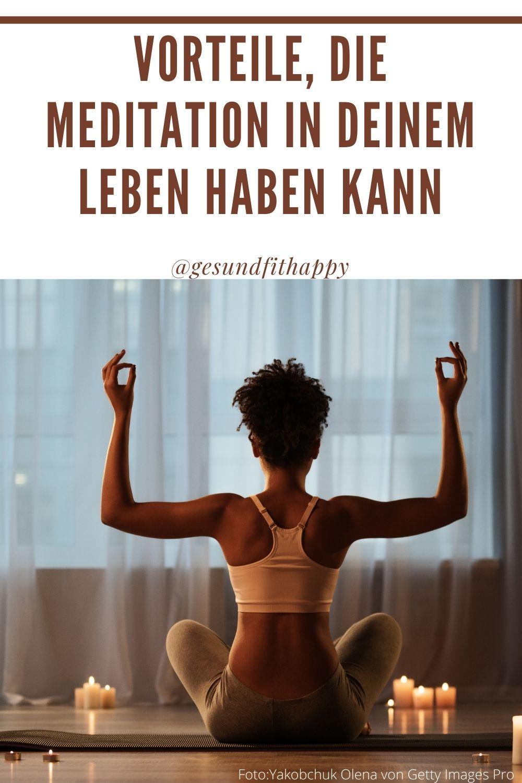 Warum Du täglich meditieren solltest