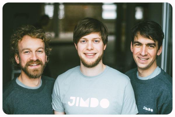Nos 3 fondateurs en 2016