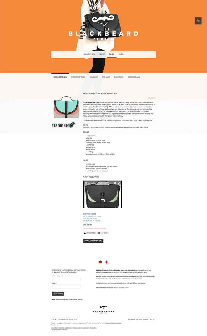 Avec une page produit vous pouvez ajouter plus d'informations sur chaque produit.