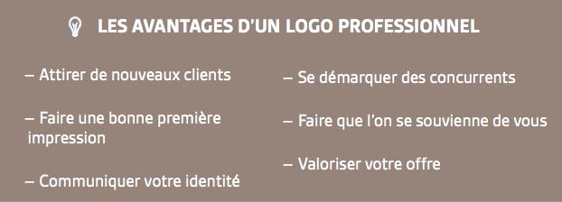 création Logo professionnel pas cher