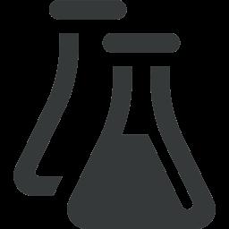 icone représentant deux fioles de chimie