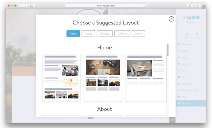 Suggested Layout Formats