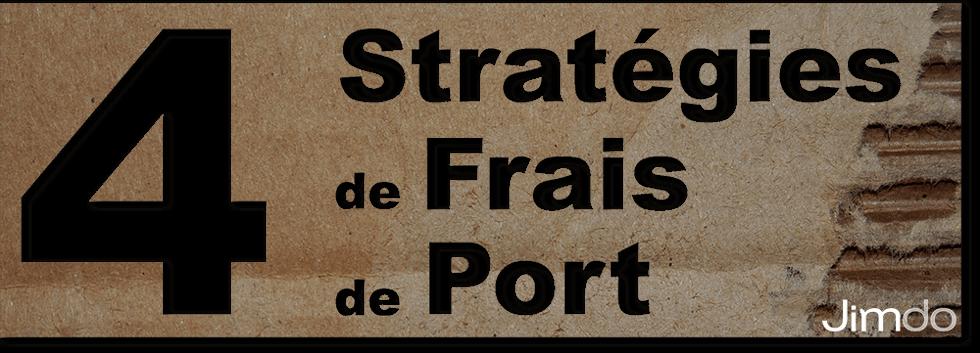 Frais de port 4 strat gies jimdo - Code frais de port gratuit vertbaudet ...