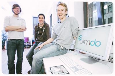 Nos 3 fondateurs en 2008