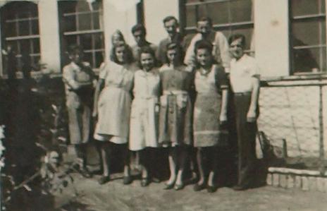 Belegschaft um 1950