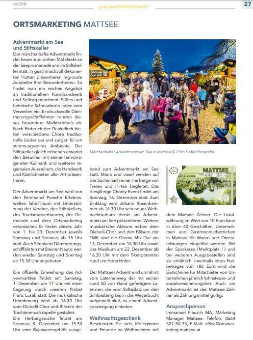 Bürgerinformation Mattsee 2018-11