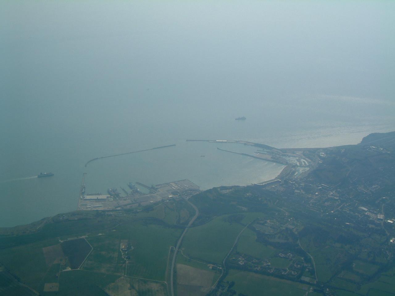Traversée de la Manche à Douvres