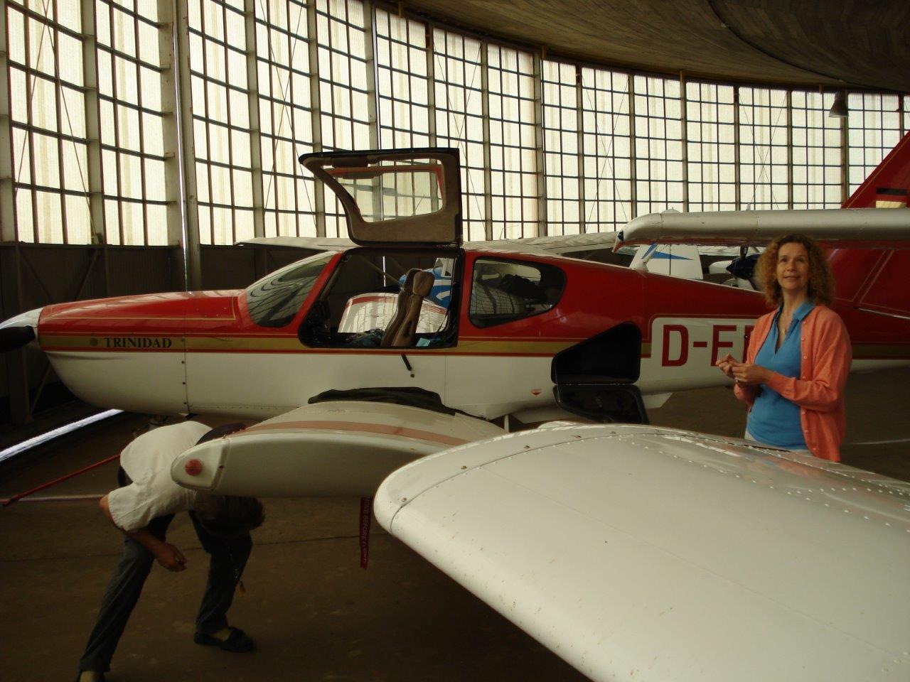 Dans le hangar à Grimbergen (EBGB)