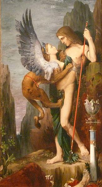 Ödipus, der das Rätsel der Menschheit zu lösen imstande war, erweist sich mit Blick auf sich selbst als ein vergeblich Wissender.