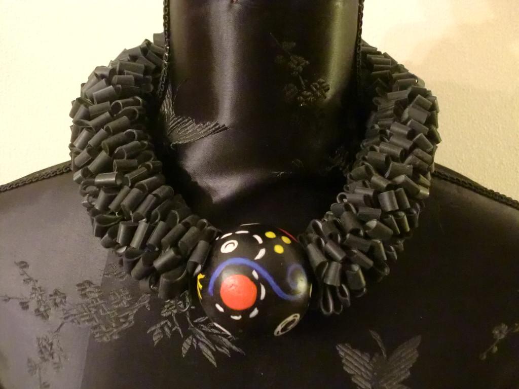 collier 'Trudy noir'