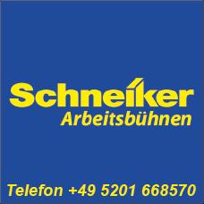 Schneiker Hubarbeitsbühnen mieten für Einsatz in Oerlinghausen