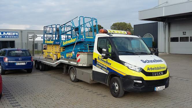 Schneiker Hubarbeitsbühnen mieten für Einsatz in Gütersloh
