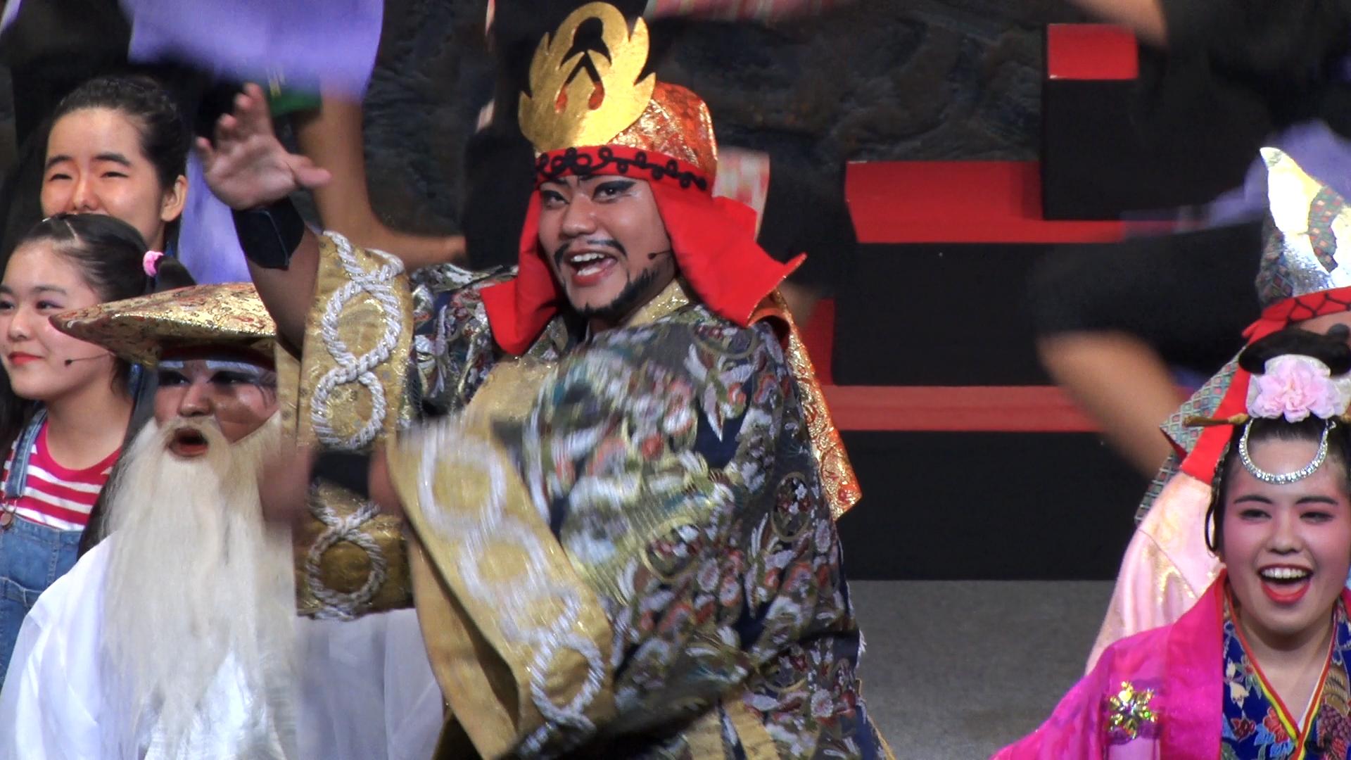 沖縄生まれの奇跡の舞台 - 現代版組踊 肝高の阿麻和利 公式サイト