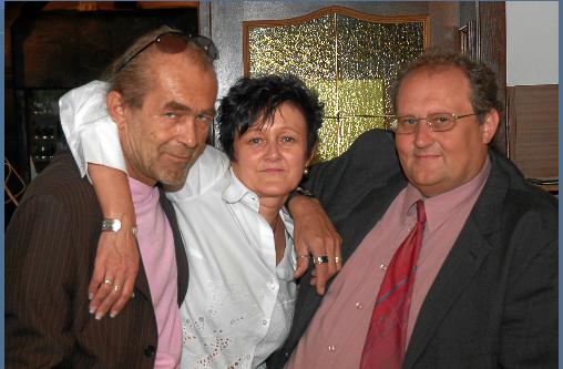 DIE VYMYS: Walter, Regina und Peter