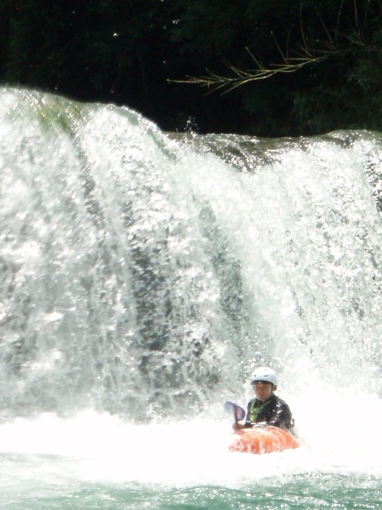 河俣川、4mドロップ、お友達のトリ君です。