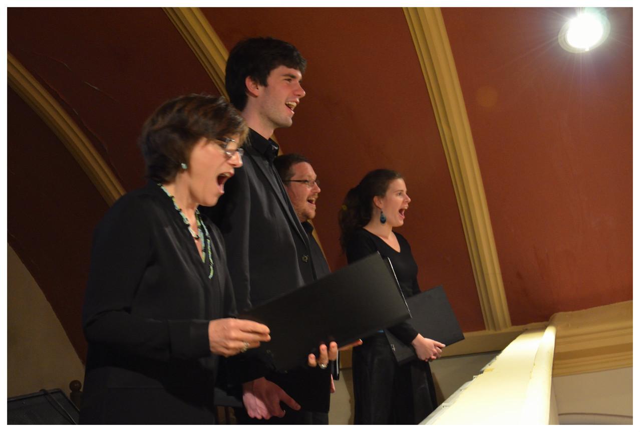 Pascale, Suliac, Matthias et Pascaline