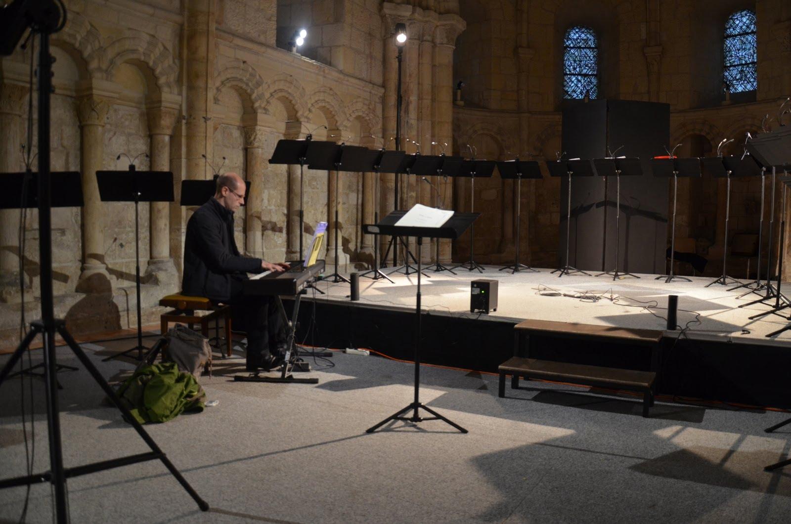 La solitude du pianiste avant le concert