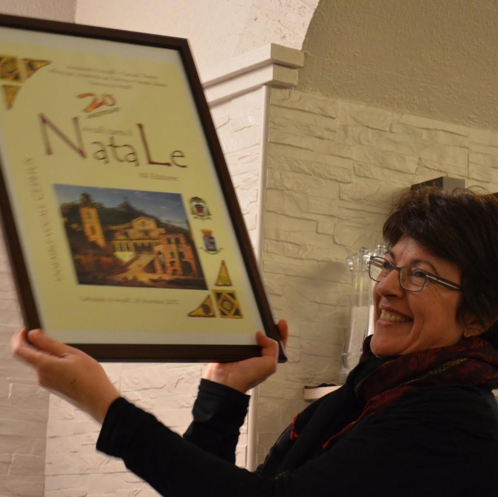 Trophée du 20ème anniversaire du festival d'Amalfi
