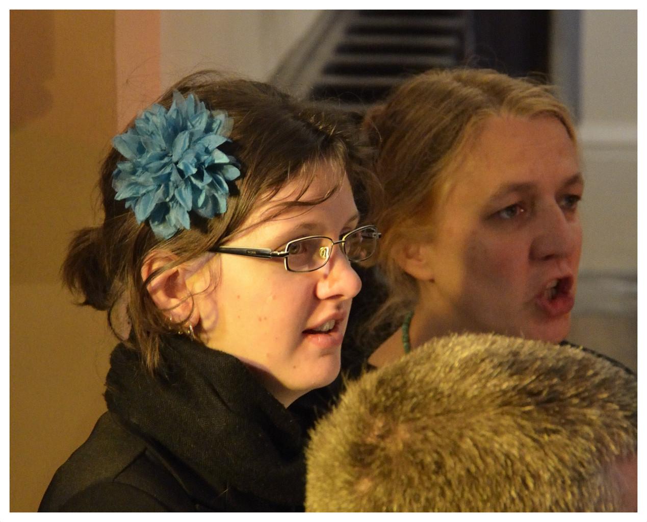 Anne-Laure et Véronique